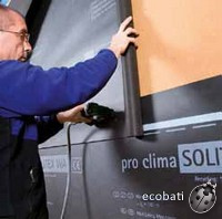 comment poser la bande de protection pro clima solitex wa
